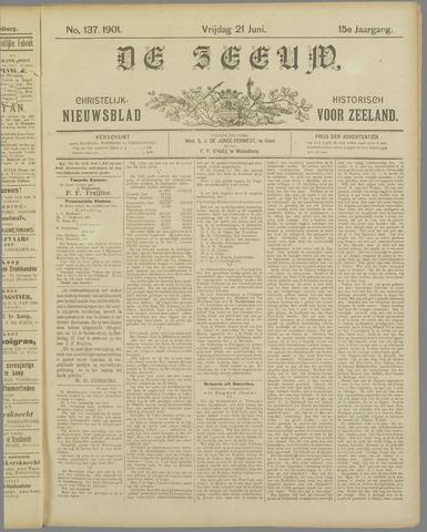De Zeeuw. Christelijk-historisch nieuwsblad voor Zeeland 1901-06-21