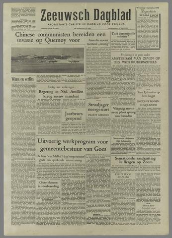 Zeeuwsch Dagblad 1958-09-03