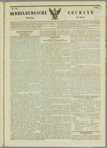 Middelburgsche Courant 1847-03-27