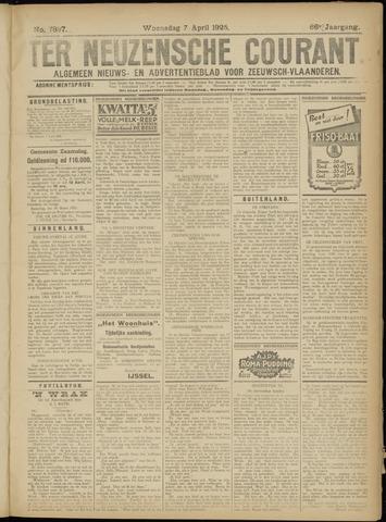 Ter Neuzensche Courant. Algemeen Nieuws- en Advertentieblad voor Zeeuwsch-Vlaanderen / Neuzensche Courant ... (idem) / (Algemeen) nieuws en advertentieblad voor Zeeuwsch-Vlaanderen 1926-04-07