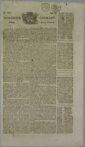 Goessche Courant 1822-02-22