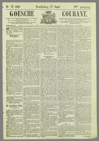 Goessche Courant 1912-06-27