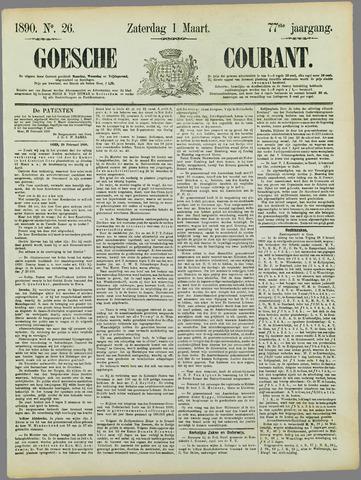 Goessche Courant 1890-03-01