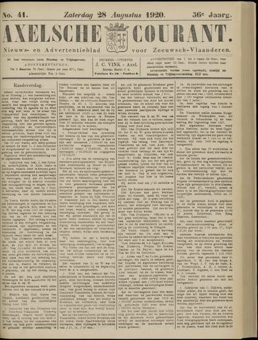 Axelsche Courant 1920-08-28