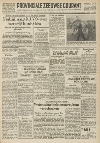 Provinciale Zeeuwse Courant 1952-12-17