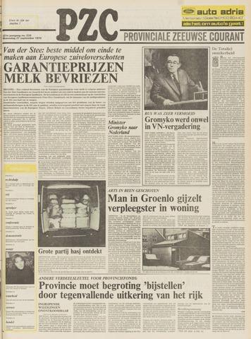 Provinciale Zeeuwse Courant 1978-09-27