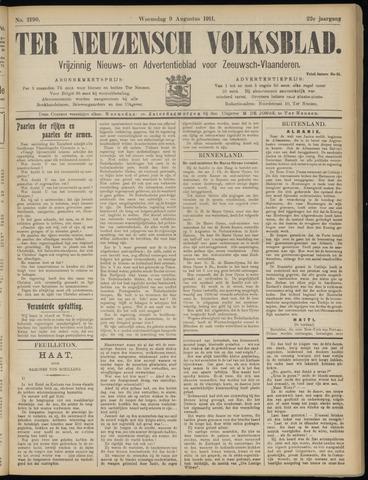Ter Neuzensch Volksblad. Vrijzinnig nieuws- en advertentieblad voor Zeeuwsch- Vlaanderen / Zeeuwsch Nieuwsblad. Nieuws- en advertentieblad voor Zeeland 1911-08-09