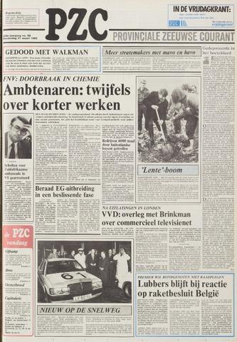 Provinciale Zeeuwse Courant 1985-03-21