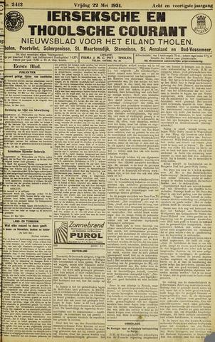 Ierseksche en Thoolsche Courant 1931-05-22