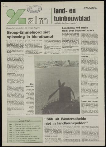 Zeeuwsch landbouwblad ... ZLM land- en tuinbouwblad 1991-06-21