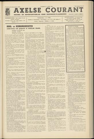 Axelsche Courant 1965-04-03