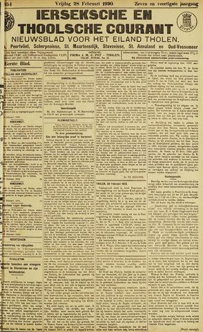 Ierseksche en Thoolsche Courant 1930-02-28