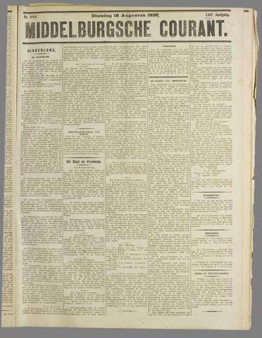 Middelburgsche Courant 1925-08-18