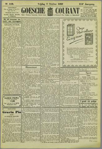 Goessche Courant 1927-10-07