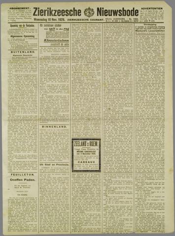 Zierikzeesche Nieuwsbode 1926-11-10