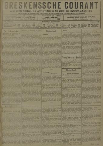 Breskensche Courant 1929-08-07