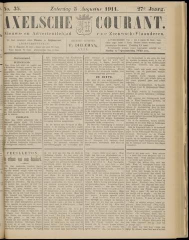 Axelsche Courant 1911-08-05