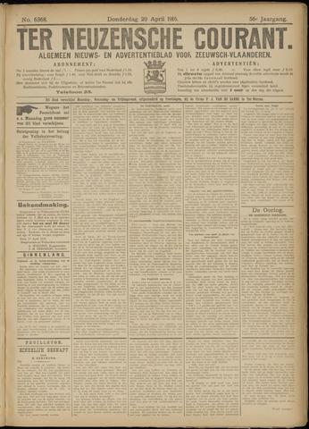 Ter Neuzensche Courant. Algemeen Nieuws- en Advertentieblad voor Zeeuwsch-Vlaanderen / Neuzensche Courant ... (idem) / (Algemeen) nieuws en advertentieblad voor Zeeuwsch-Vlaanderen 1916-04-20