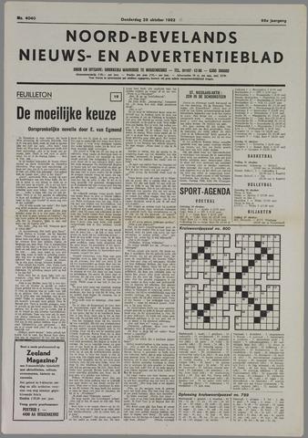 Noord-Bevelands Nieuws- en advertentieblad 1982-10-28