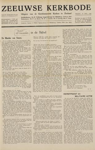 Zeeuwsche kerkbode, weekblad gewijd aan de belangen der gereformeerde kerken/ Zeeuwsch kerkblad 1948-12-24