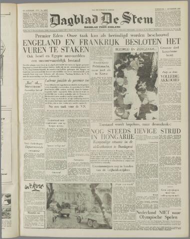 de Stem 1956-11-07
