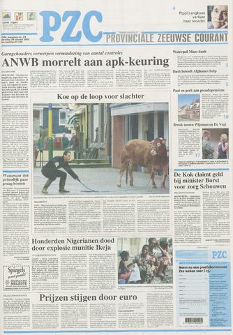 Provinciale Zeeuwse Courant 2002-01-29