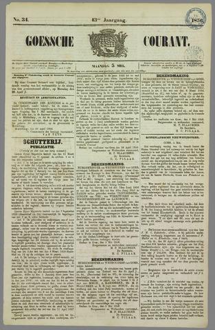 Goessche Courant 1856-05-05