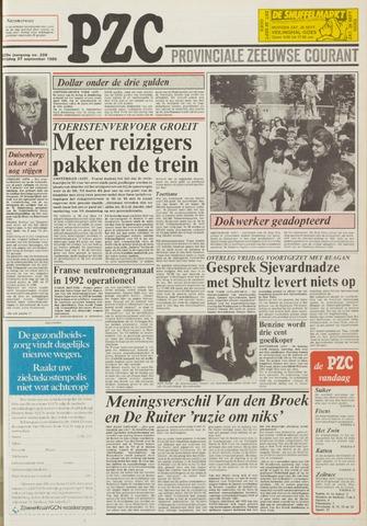 Provinciale Zeeuwse Courant 1985-09-27