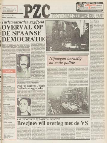 Provinciale Zeeuwse Courant 1981-02-24