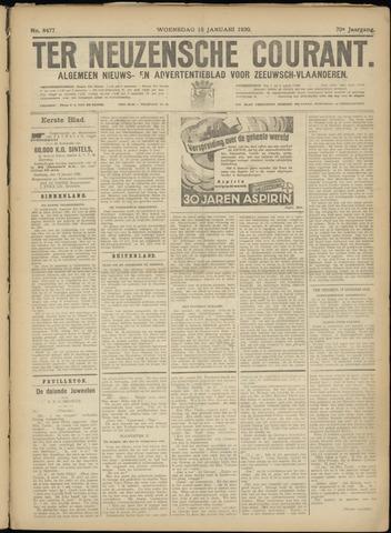 Ter Neuzensche Courant. Algemeen Nieuws- en Advertentieblad voor Zeeuwsch-Vlaanderen / Neuzensche Courant ... (idem) / (Algemeen) nieuws en advertentieblad voor Zeeuwsch-Vlaanderen 1930-01-15