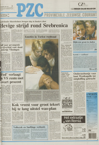 Provinciale Zeeuwse Courant 1995-07-07