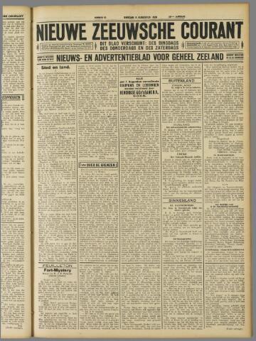 Nieuwe Zeeuwsche Courant 1929-08-06