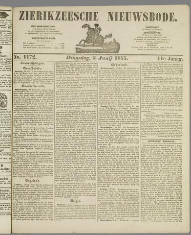 Zierikzeesche Nieuwsbode 1855-06-05