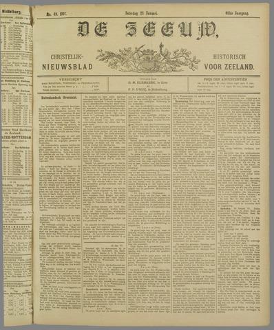 De Zeeuw. Christelijk-historisch nieuwsblad voor Zeeland 1897-01-23