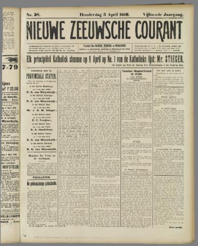 Nieuwe Zeeuwsche Courant 1919-04-03