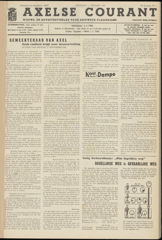 Axelsche Courant 1960-10-01