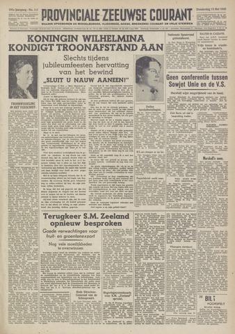 Provinciale Zeeuwse Courant 1948-05-13