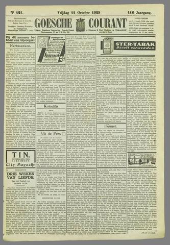 Goessche Courant 1929-10-11