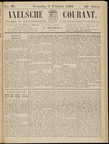 Axelsche Courant 1910-02-02