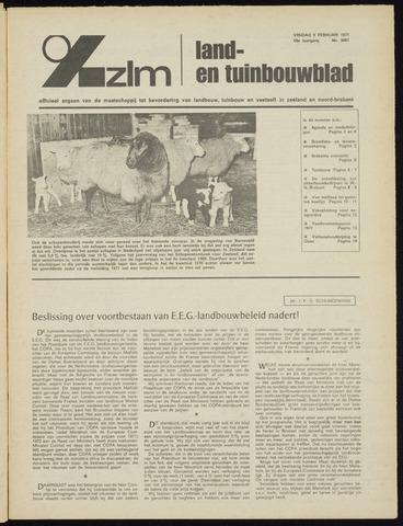 Zeeuwsch landbouwblad ... ZLM land- en tuinbouwblad 1971-02-05