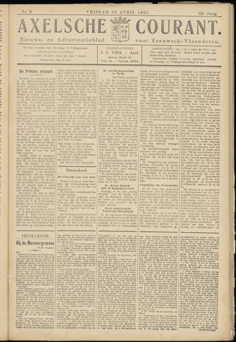 Axelsche Courant 1937-04-30