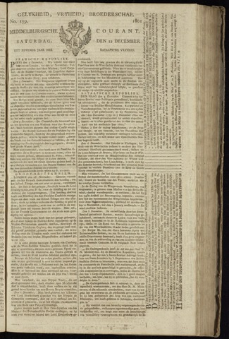 Middelburgsche Courant 1801-12-12