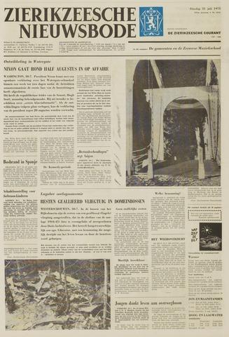 Zierikzeesche Nieuwsbode 1973-07-31