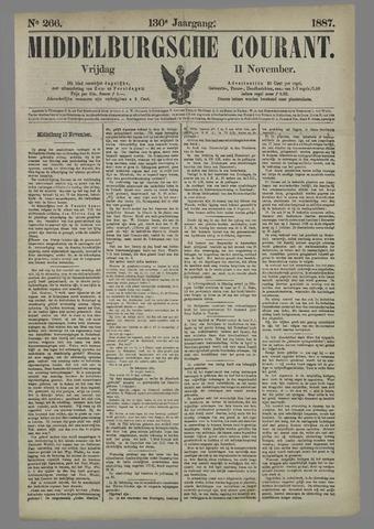 Middelburgsche Courant 1887-11-11