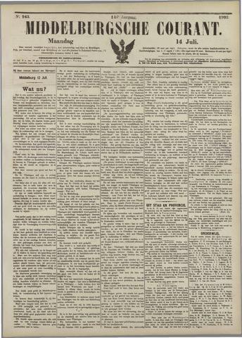 Middelburgsche Courant 1902-07-14