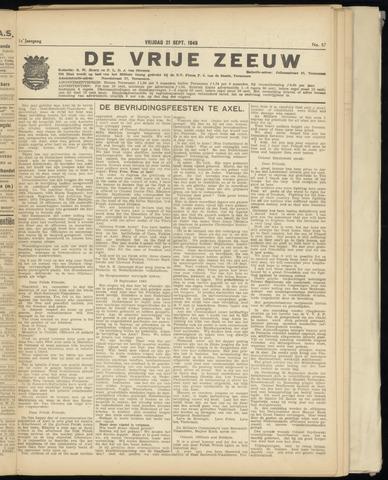 de Vrije Zeeuw 1945-09-21