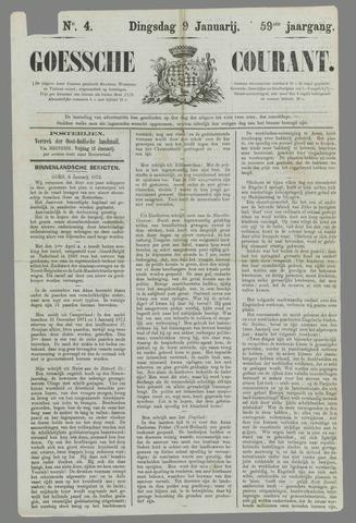 Goessche Courant 1872-01-09