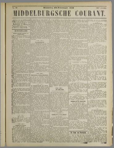 Middelburgsche Courant 1919-02-24
