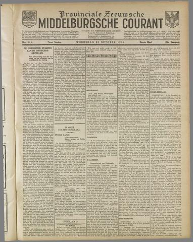 Middelburgsche Courant 1930-10-22