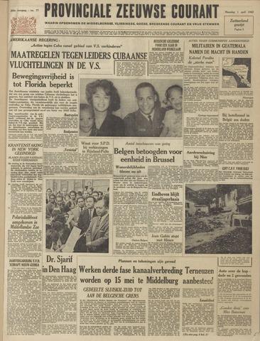 Provinciale Zeeuwse Courant 1963-04-01